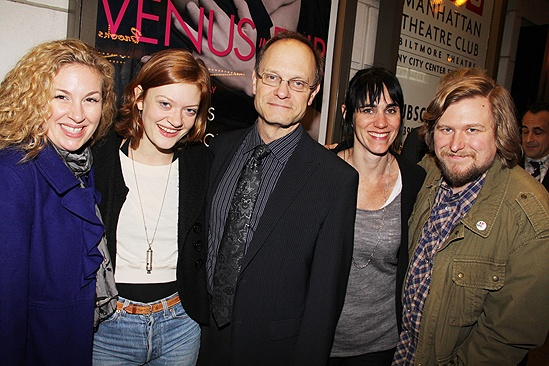Venus in Fur Broadway Opening Night – Molly Smith Metzler – Colby Minifie – David Hyde Pierce – Leigh Silverman – Michael Chernus