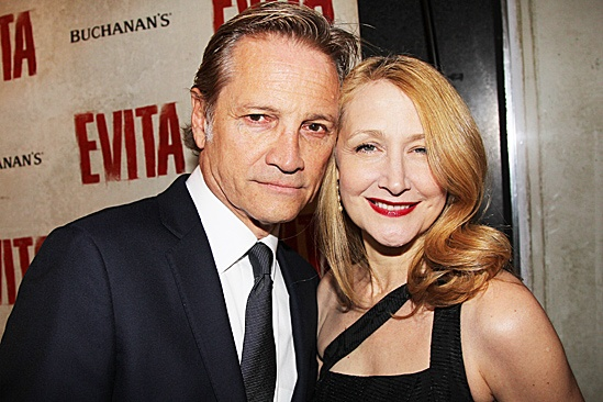 Evita – Opening – Lawrence O'Donnell Jr. - Patricia Clarkson