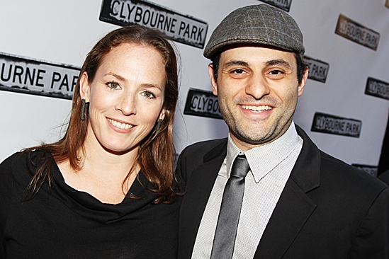 Clybourne Park Opening Night – Krissy Shields – Arian Moayed
