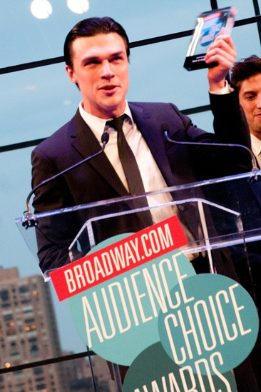 2012 Audience Choice Awards – Ceremony Photos – Finn Wittrock – Nick Adams – Judith Light