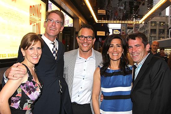 Bring It On Opening Night – Kristin Caskey – Dick Scanlan – Michael Mayer – Jeanine Tesori – Mike Isaacson