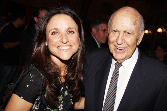 'Book of Mormon' LA Opening—Julia Louis-Dreyfus—Carl Reiner