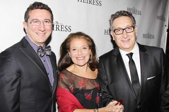 The Heiress – Opening Night – Jeffrey LaHoste – Judy Goetz Sanger – Moises Kaufman