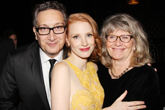 The Heiress – Opening Night – Moises Kaufman – Jessica Chastain – Judith Ivey