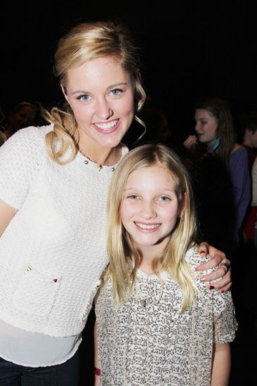 Rosie O'Donnell at 'Bring It On' — Taylor Louderman — Vivienne O'Donnell
