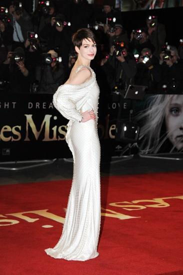 Les Miserables London premiere – Anne Hathaway