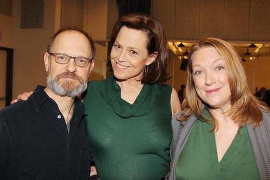 Vanya and Sonia Broadway Meet and Greet – David Hyde Pierce – Sigourney Weaver – Kristine Nielsen