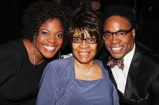 Kinky Boots Opening- M&M- Mom- Billy Porter