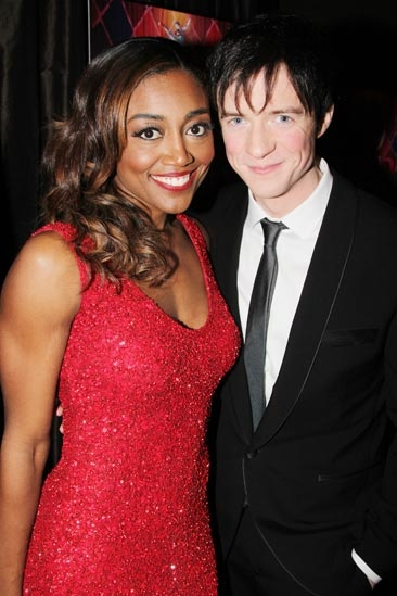 Pippin – Opening Night – Patina Miller – Matthew James Thomas