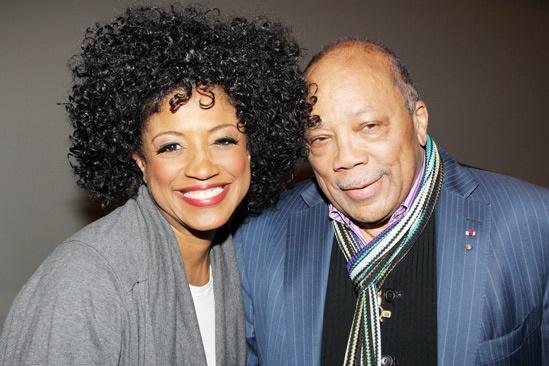 Quincy Jones at 'Motown' — Marva Hicks — Quincy Jones