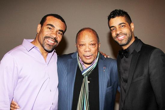Quincy Jones at 'Motown' — Joseph Joubert — Quincy Jones — Jason Michael Webb