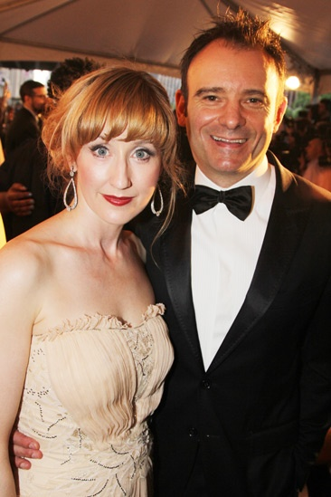 Tony Red Carpet- Lauren Ward- Matthew Warchus
