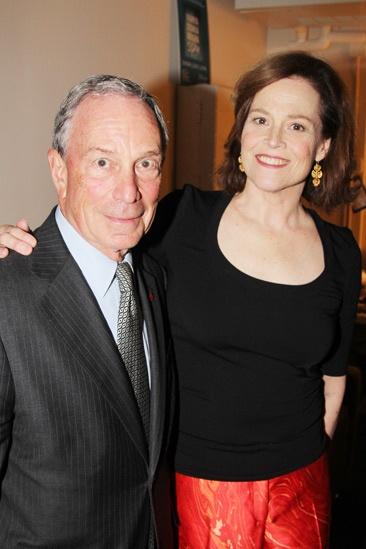 Vanya and Sonia and Masha and Spike- Mayor Michael Bloomberg- Sigourney Weaver
