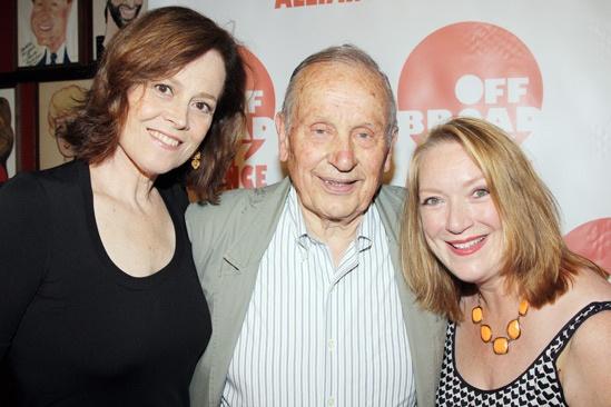 Off Broadway Alliance Awards – 2013 – Sigourney Weaver – A.R. Gurney – Kristine Nielsen