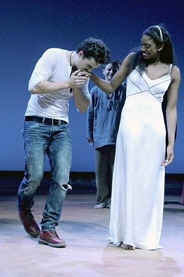 Romeo and Juliet – Opening Night – Orlando Bloom – Condola Rashad