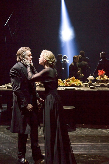 <I>Macbeth</I>: Show Photos - Ethan Hawke - Anne-Marie Duff