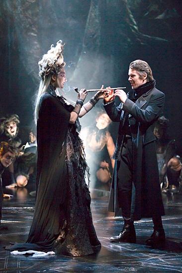 <I>Macbeth</I>: Show Photos - Francesca Faridany - Ethan Hawke