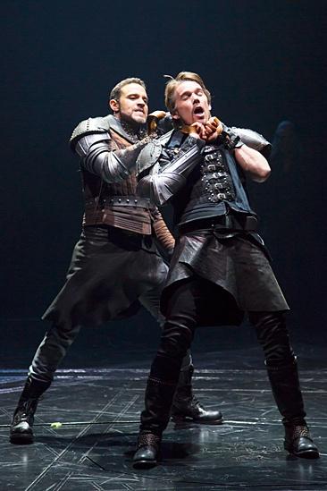 <I>Macbeth</I>: Show Photos - Daniel Sunjata - Ethan Hawke