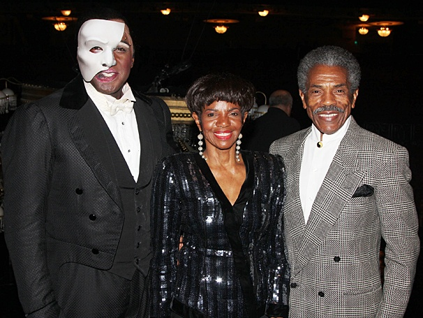 The Phantom of the Opera – Norm and Sierra first - OP – 5/14 - Norm Lewis - Melba Moore - Andre deShields