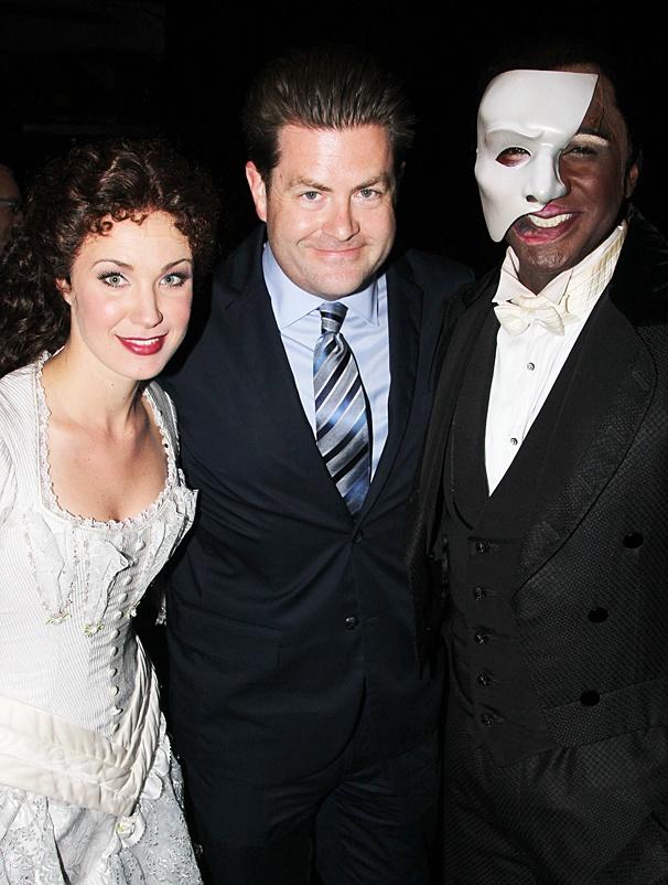 The Phantom of the Opera – Norm and Sierra first - OP – 5/14 - Sierra Boggess - Paul Wontorek  - Norm Lewis