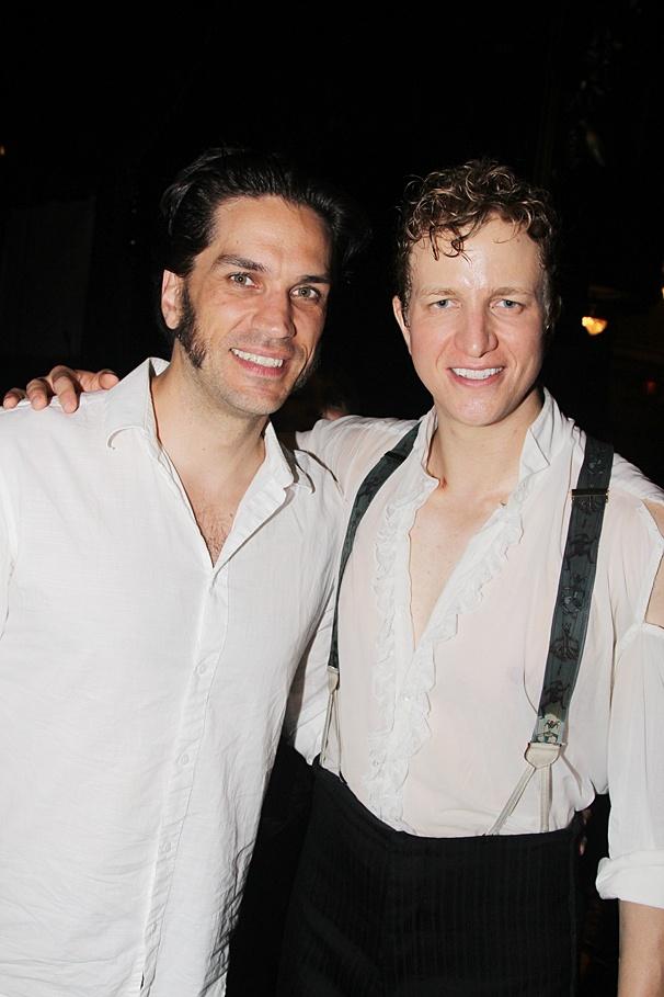 Phantom of the Opera - Backstage - OP - 6/14 - Will Swenson - Jeremy Hays