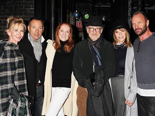 The Last Ship - Backstage - 12/14 - Steven Spielberg - Bruce Springsteen - Sting