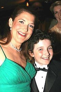 Drama Desk Awards 2005 - Victoria Clark - son Thomas