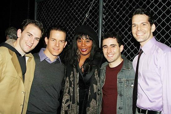 Celebs at Jersey Boys - Donna Summer