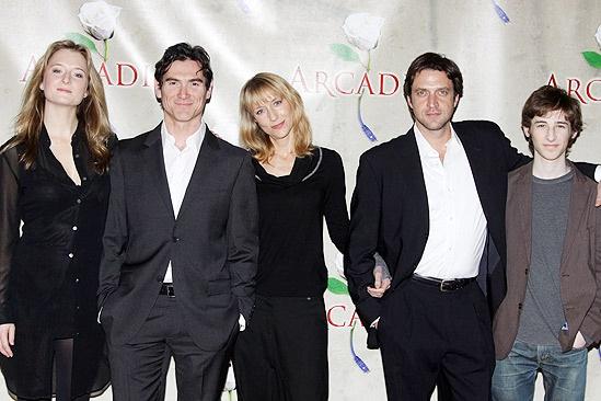 Arcadia meet - Grace Gummer, Billy Crudup, Lia Williams, Raul Esparza and Noah Robbins.