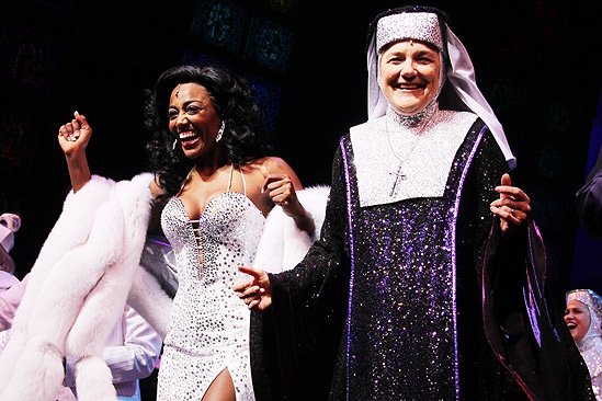 Sister Act Opening Night –  Patina Miller – Victoria Clark