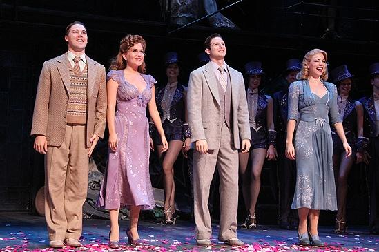 <i>Follies</i> opening night – Christian Delcroix – Lora Lee Gayer – Nick Verina – Kirsten Scott