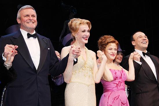 <i>Follies</i> opening night – Ron Raines – Jan Maxwell – Bernadette Peters – Danny Burstein