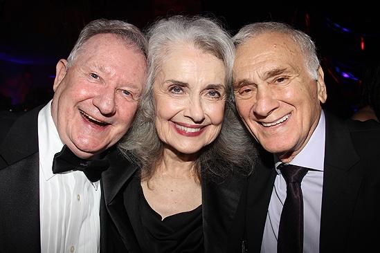 <i>Follies</i> opening night – Harvey Evans – Mary Beth Peil – Dick Latessa