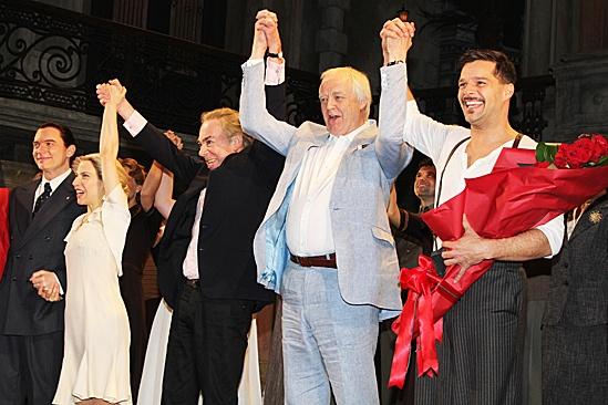 Evita – Opening – Michael Cerveris - Elena Roger –Andrew Lloyd Webber- Tim Rice- Ricky Martin