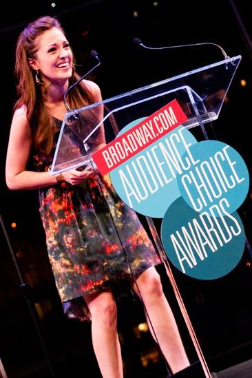 2012 Audience Choice Awards – Ceremony Photos – Laura Osnes