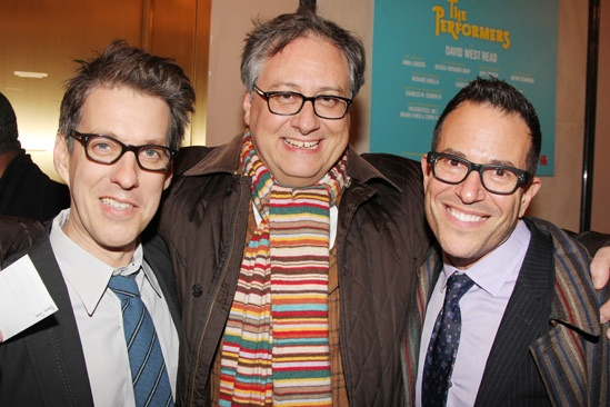 The Performers – opening night – Lewis Flinn – Douglas Carter Beane – Michael Mayer