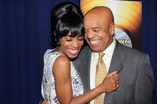 'Motown' Meet and Greet — Valisia LeKae — Berry Gordy