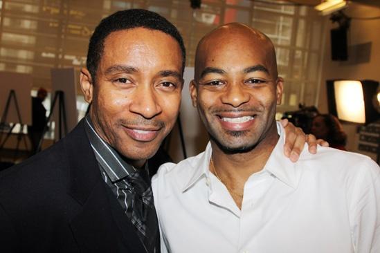 'Motown' Meet and Greet — Charles Randolph-Wright — Brandon Victor Dixon