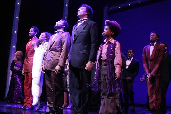 'Motown' Opening Night — Bryan Terrell Clark — Valisia LeKae — Brandon Victor Dixon — Charl Brown — Raymond Luke Jr.
