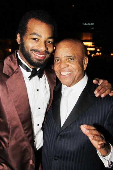 'Motown' Opening Night — Brandon Victor Dixon — Berry Gordy