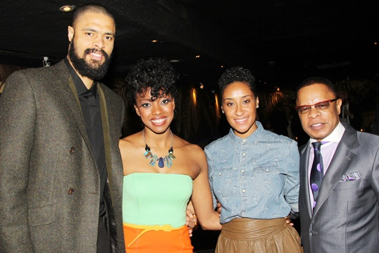 The Trip to Bountiful – Opening Night – Tyson Chandler - Condola Rashad – Kimberly Chandler – Stephen Byrd