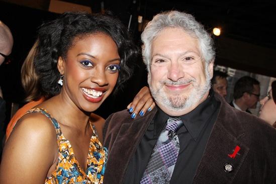 2013 Tony Nominee Brunch — Condola Rashad — Harvey Fierstein
