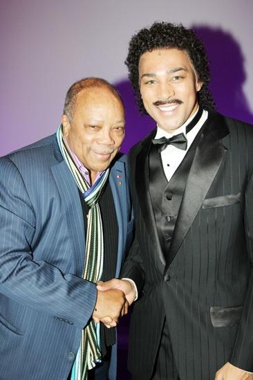 Quincy Jones at 'Motown' — Quincy Jones — Charl Brown