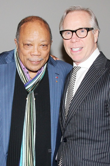 Quincy Jones at 'Motown' — Quincy Jones — Tommy Hilfiger