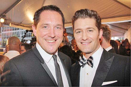 Tony Red Carpet- Bertie Carvel- Matthew Morrison