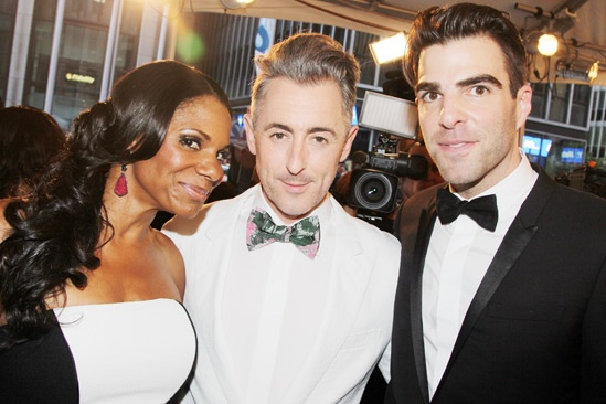 Tony Red Carpet- Audra McDonald- Alan Cumming- Zachary Quinto