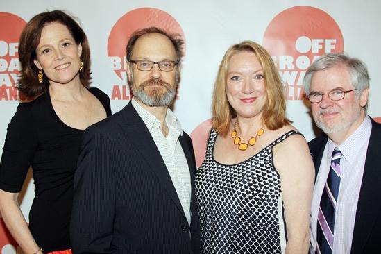 Off-Broadway Alliance Awards – 2013 – Sigourney Weaver – David Hyde Pierce – Kristine Nielsen – Christopher Durang