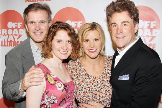 Off Broadway Alliance Awards – 2013 – George Dvorsky - Christiane Noll – Jenn Colella – Sal Viviano
