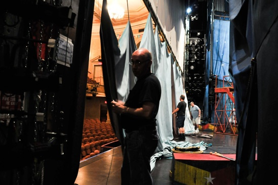 Pippin – Backstage Photos – crew