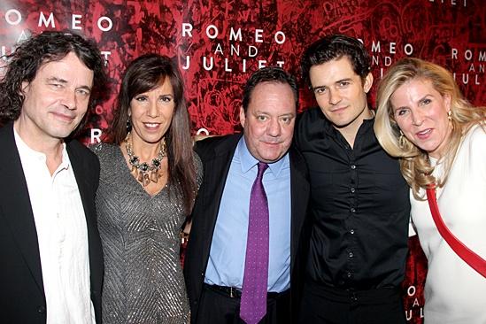 Romeo and Juliet – Opening Night – David Leveaux – Susan Bristow – Jimmy Nederlander – Orlando Bloom – Margo Nederlander